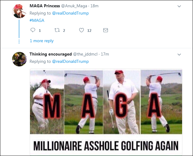 00021 Trump Brags About Positive Fake News Report On Twitter & Gets Eaten Alive Instantly Domestic Policy Donald Trump Economy Politics Top Stories