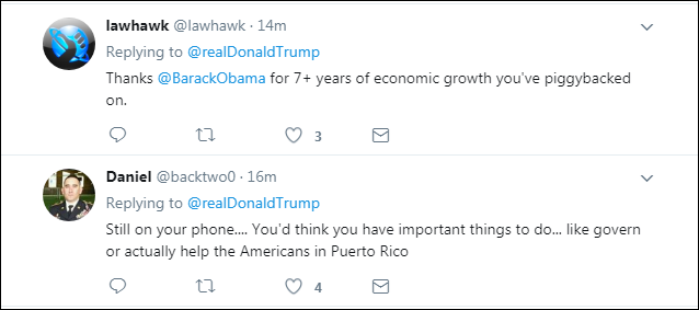 00031 Trump Brags About Positive Fake News Report On Twitter & Gets Eaten Alive Instantly Domestic Policy Donald Trump Economy Politics Top Stories