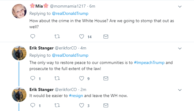 2017-11-17-10_13_34-Donald-J.-Trump-on-Twitter_-_Together-were-going-to-restore-safety-to-our-stre Trump Tweets Friday AM MS-13 Gang Video & Karma Arrives In Seconds (IMAGE) Donald Trump Featured Nazis Politics Racism Social Media Top Stories Violence