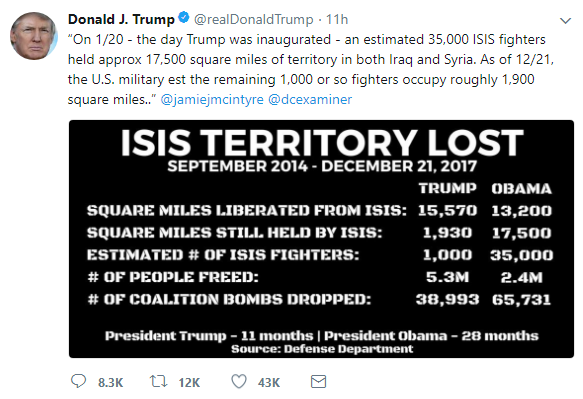 2017-12-28-08_39_20-Donald-J.-Trump-@realDonaldTrump-_-Twitter BREAKING: Thursday AM Terror Attack Devastates City - Mass Fatalities Reported Donald Trump Featured Politics Social Media Top Stories Violence