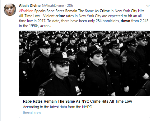 cccc14 Trump Claims NYC Is Ravaged By Violence - New Crime Statistics Prove He's A Big Fat Liar Corruption Crime Feminism Politics Top Stories