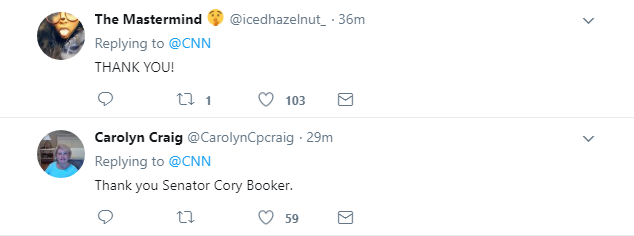 """2018-01-16-14_19_44-CNN-on-Twitter_-__Your-silence-and-your-amnesia-is-complicity""""_-Sen.-Cory-Booker Cory Booker Annihilates Homeland Security Secretary For 'Complicity' In Trump's Racism Donald Trump Featured Immigration Politics Racism Top Stories Videos"""