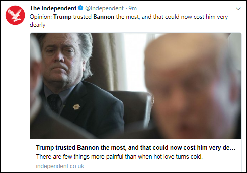 b14 BREAKING: Trump Sends Legal Team After Bannon In Scared Thursday Morning Move Corruption Donald Trump Election 2016 Politics Top Stories