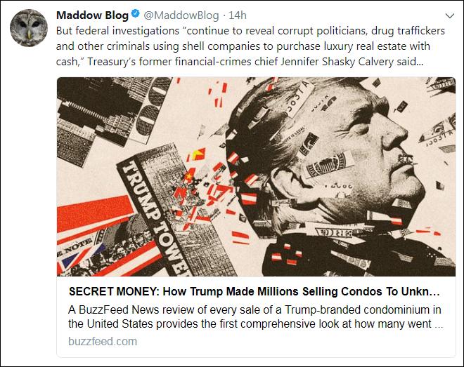 b40 Rachel Maddow Reveals Trump's Deadly Ties With Kazakhstan's Toxic Mines (DETAILS) Corruption Crime Donald Trump Politics Russia Top Stories