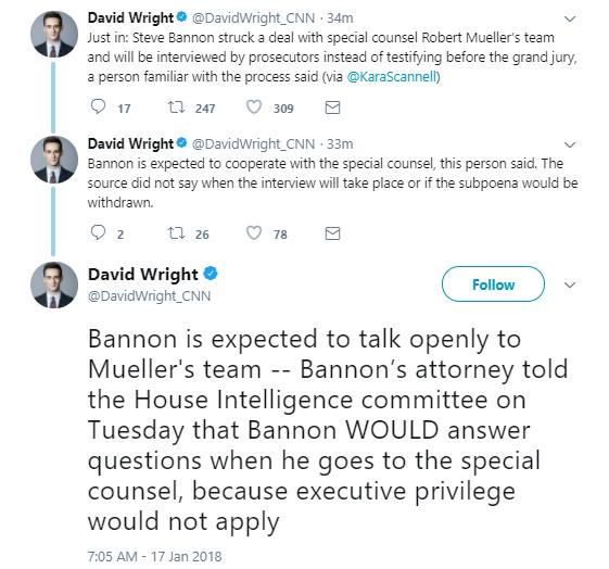 bannon-grand-jury BREAKING: Trump Devastated; Steve Bannon 'Strikes Deal' With Robert Mueller Corruption Donald Trump Politics Russia Social Media Top Stories