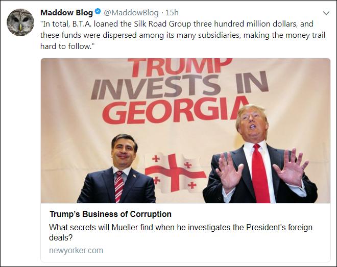 c28 Rachel Maddow Reveals Trump's Deadly Ties With Kazakhstan's Toxic Mines (DETAILS) Corruption Crime Donald Trump Politics Russia Top Stories