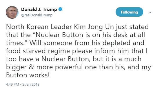 trump-nuke-button Senior W.H. Staff Dropping Like Flies After Massive Resignation Announcement (DETAILS) Donald Trump Social Media Top Stories