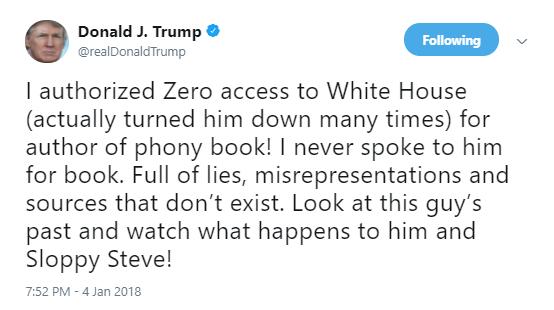 trump-sloppy-steve Senior W.H. Staff Dropping Like Flies After Massive Resignation Announcement (DETAILS) Donald Trump Social Media Top Stories