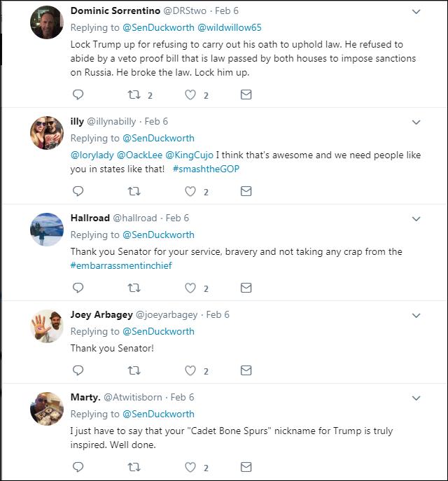 65 Wounded Black Hawk Pilot Senator Tammy Duckworth Just Took On Trump Like A Boss Corruption Domestic Policy Donald Trump Election 2020 Politics Top Stories