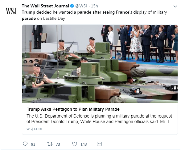 a19 Lindsey Graham Responds To Trump's 'Cheesy' Parade With A Harsh Dose Of Reality Donald Trump Military Politics Top Stories