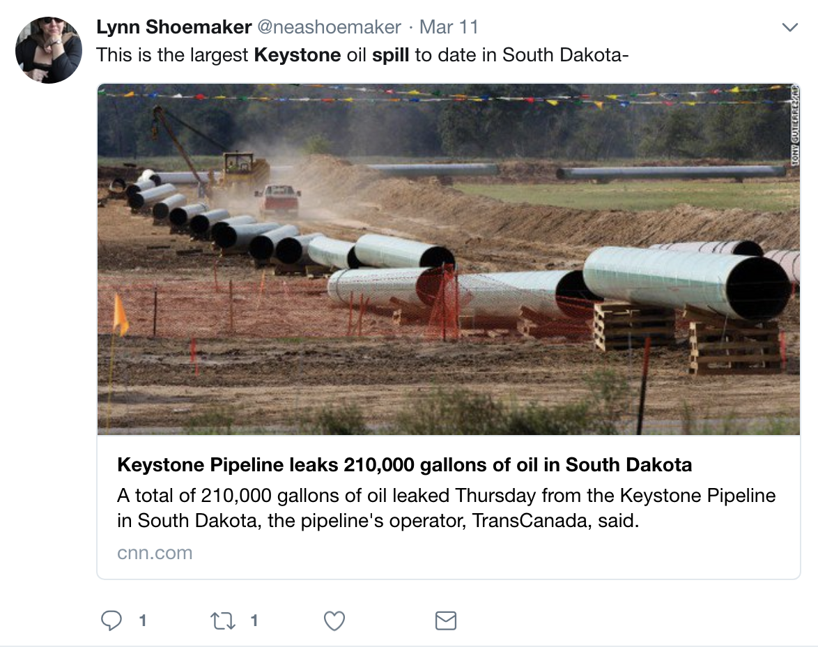 Screen-Shot-2018-03-13-at-8.59.12-AM BREAKING: Keystone Pipeline Bursts Spreading Mass Devastation As Trump Watches Fox Corruption Crime Donald Trump Environment Politics Top Stories
