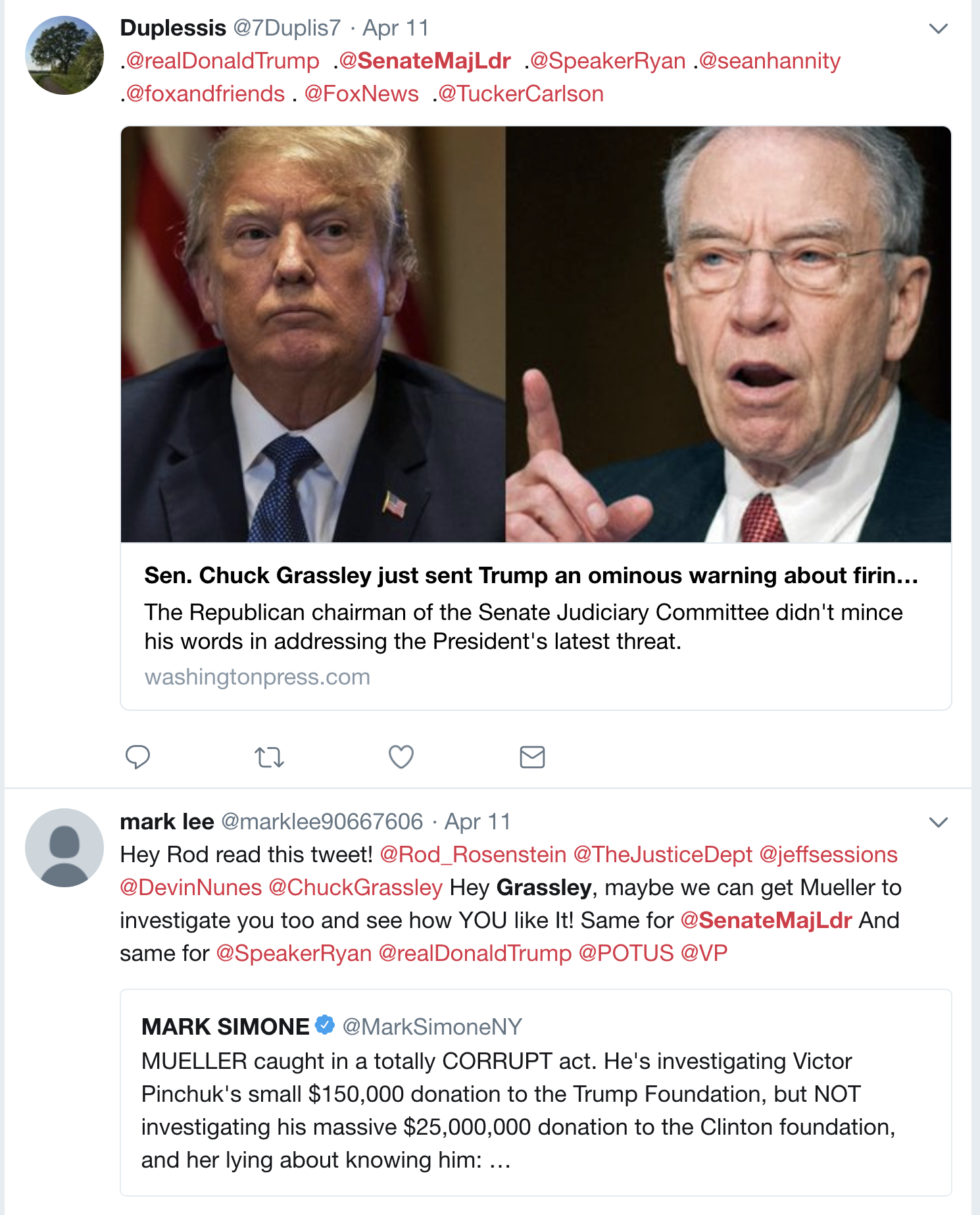 Screen-Shot-2018-04-18-at-1.07.16-PM U.S. Senate Tells Mitch McConnell To Shove It; Immediately Moves To Protect Mueller Corruption Crime Domestic Policy Donald Trump Politics Top Stories