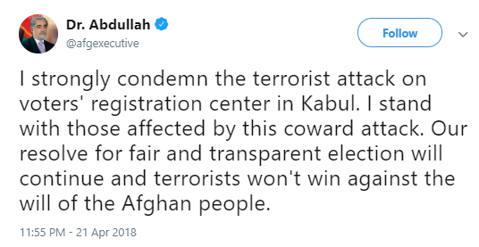 abdullah BREAKING: At Least 57 Dead; Bomb Rips Through Voter Registration Center (DETAILS) Donald Trump Politics Social Media Terrorism Top Stories