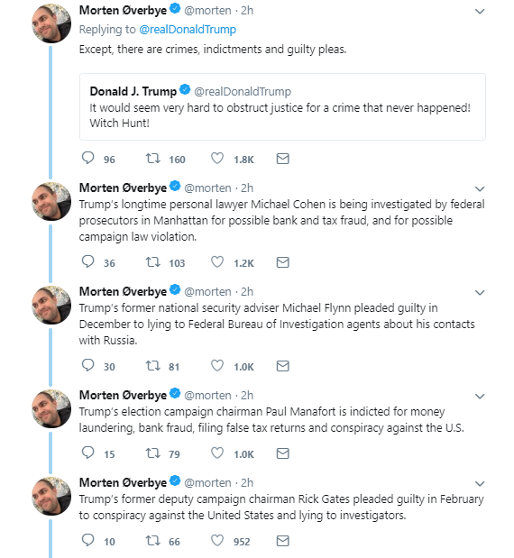 fifteen Trump AM Rants About Mueller's Questions Being Leaked - Tweets So Stupid, It's Scary Donald Trump Politics Social Media Top Stories