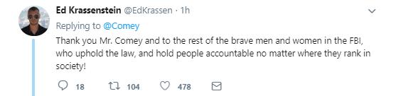 seven1 James Comey Tweets About The Anniversary Of His Firing Like A True American Patriot Corruption Donald Trump Politics Social Media Top Stories