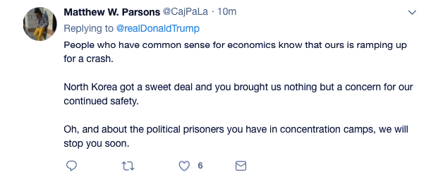 Screenshot-at-Jun-14-08-59-44 Trump Gloats During Thursday AM Pat On The Back Tweet Like An Embarrassment Donald Trump Economy Featured Politics Top Stories