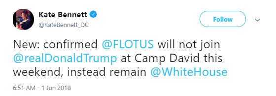 flotus-david Melania Trump's Weekend Plan Revealed & The Rumor Mill Has Erupted Into Overdrive Donald Trump Politics Social Media Top Stories