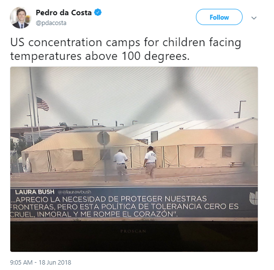 over-100 Jeb Bush Calls Out Trump For Family Separations - Entire Republican Party Implodes Corruption Donald Trump Immigration Politics Social Media Top Stories