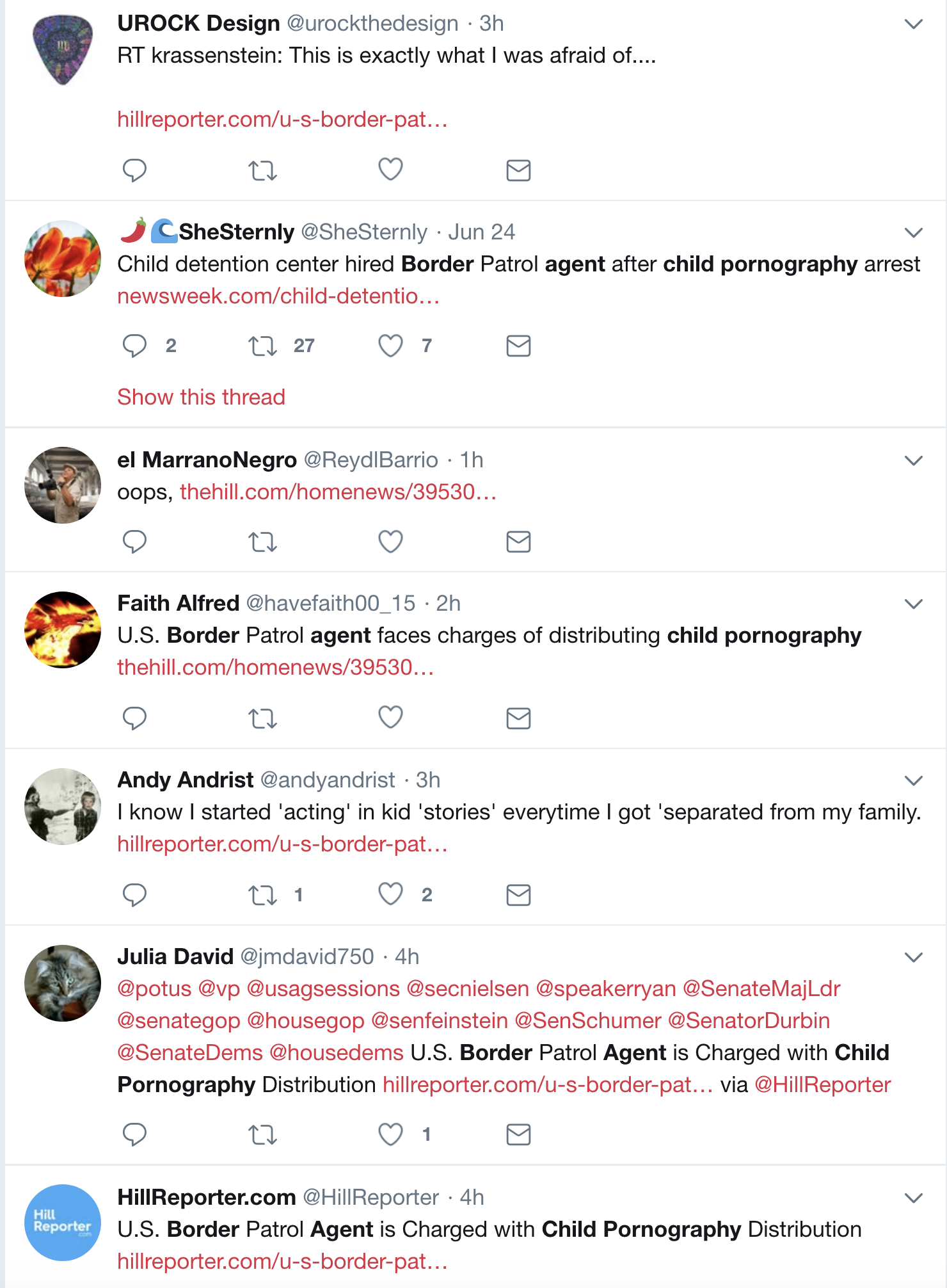 Screen-Shot-2018-07-03-at-12.10.30-PM Border Patrol Agent Caught Distributing Child Pornography; One Of Many Arrested In Bust Child Abuse Corruption Crime Donald Trump Immigration Politics Top Stories