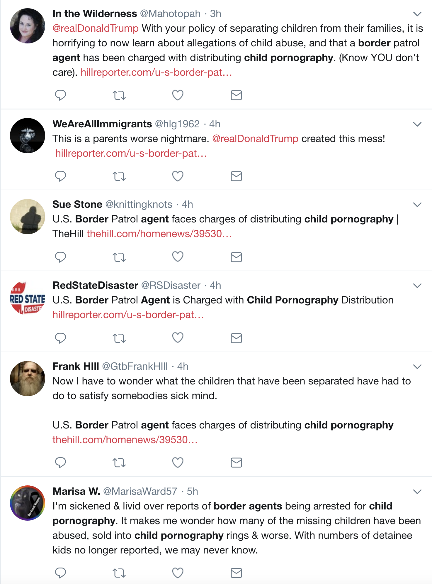 Screen-Shot-2018-07-03-at-12.11.04-PM Border Patrol Agent Caught Distributing Child Pornography; One Of Many Arrested In Bust Child Abuse Corruption Crime Donald Trump Immigration Politics Top Stories