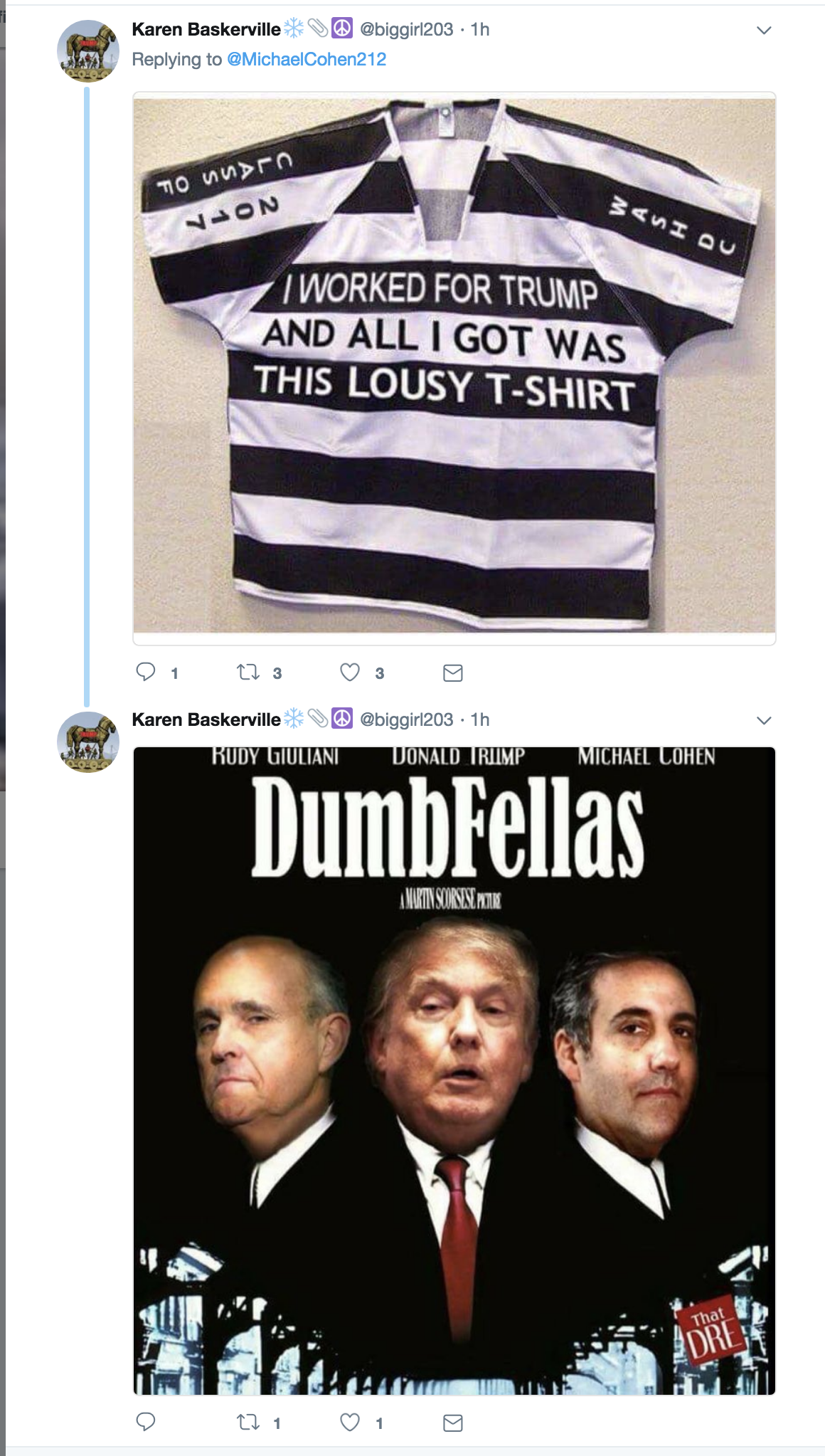 Screen-Shot-2018-08-21-at-4.09.19-PM Old Michael Cohen Tweet About Hillary Clinton Goes Viral Again In The Best Way Possible Celebrities Corruption Crime Donald Trump Election 2016 Politics Top Stories