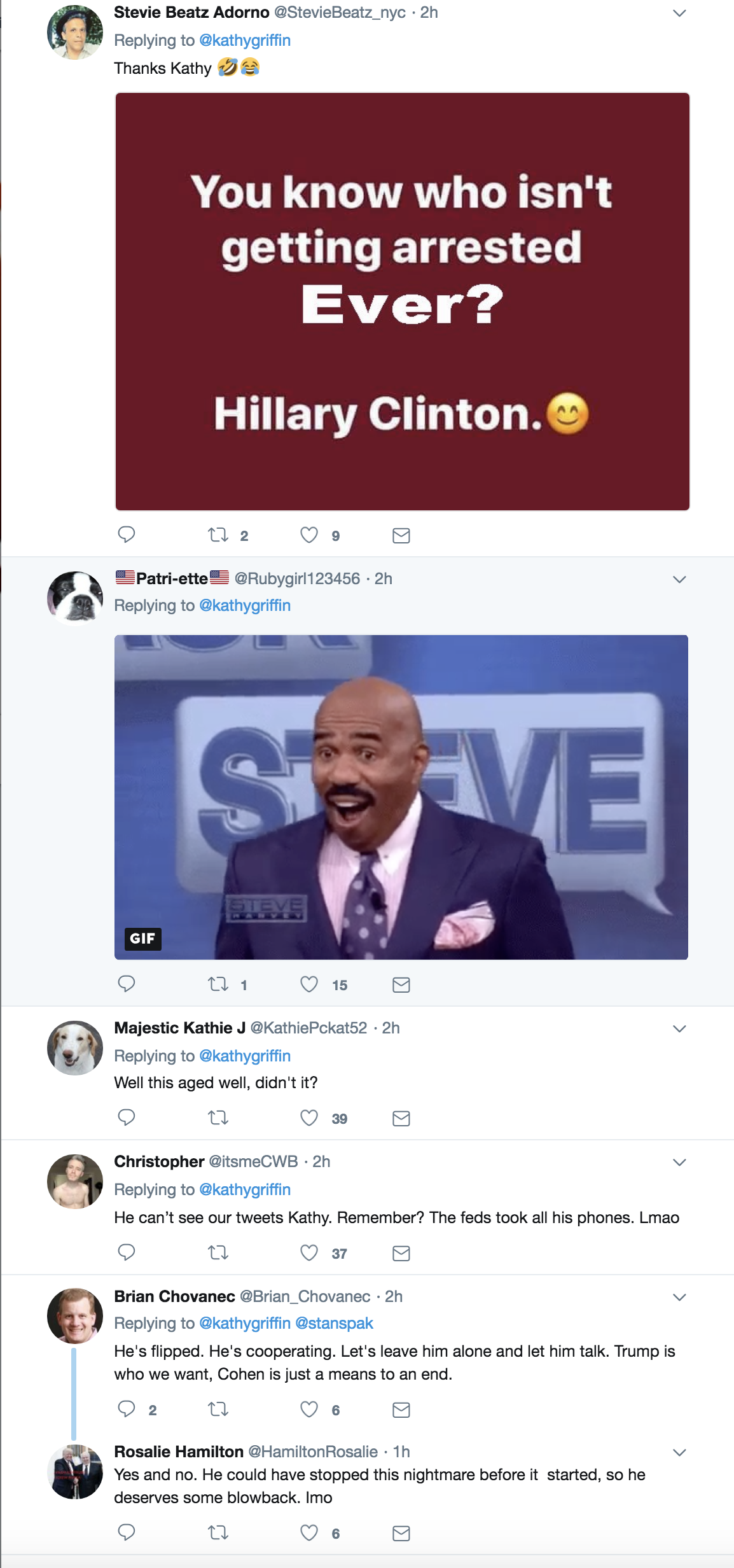 Screen-Shot-2018-08-21-at-4.10.45-PM Old Michael Cohen Tweet About Hillary Clinton Goes Viral Again In The Best Way Possible Celebrities Corruption Crime Donald Trump Election 2016 Politics Top Stories