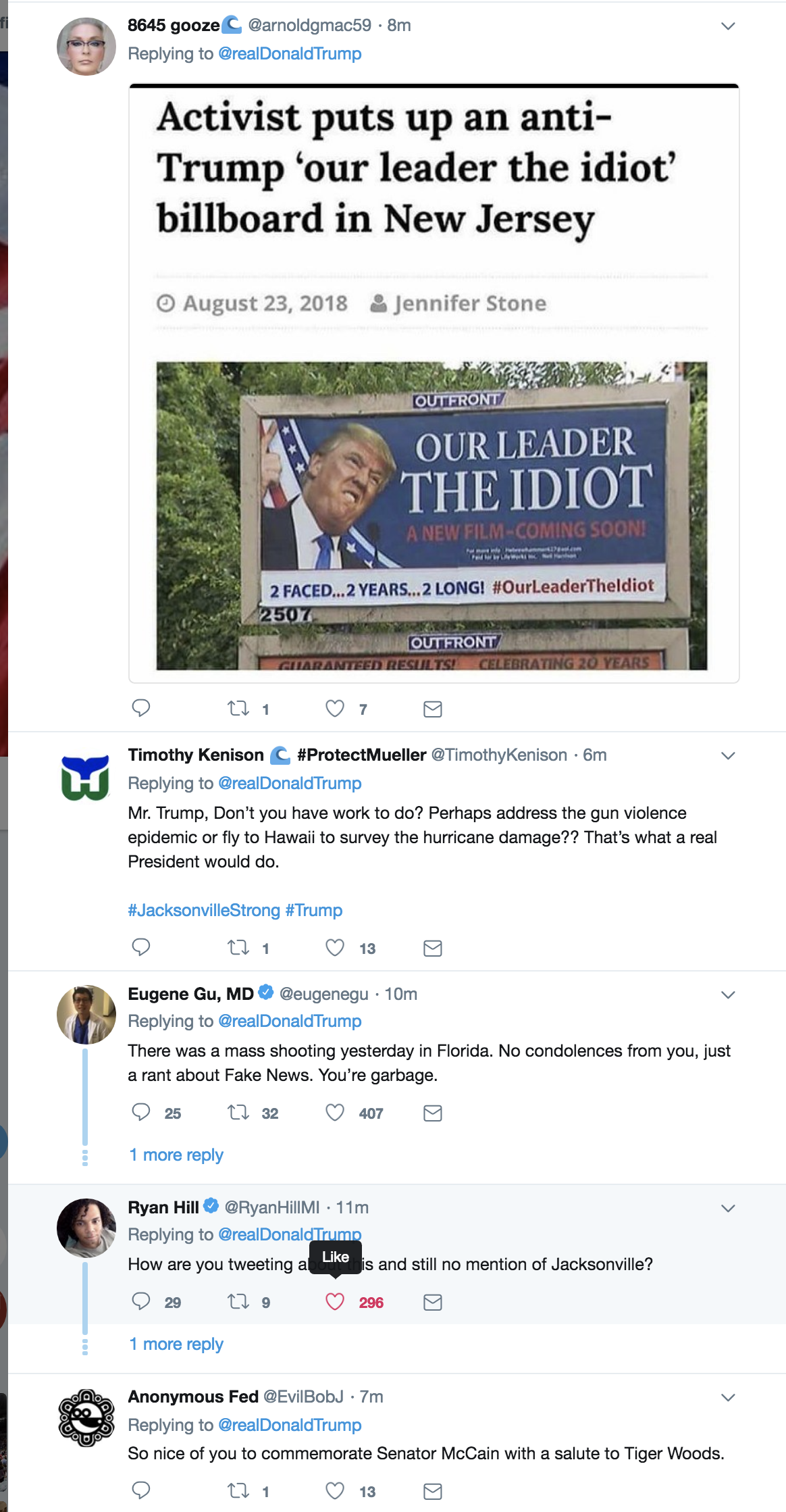 Screen-Shot-2018-08-27-at-8.49.53-AM Trump Goes Off On Twitter About Golfer Tiger Woods Like An Escaped Mental Patient Celebrities Donald Trump Politics Sports Top Stories