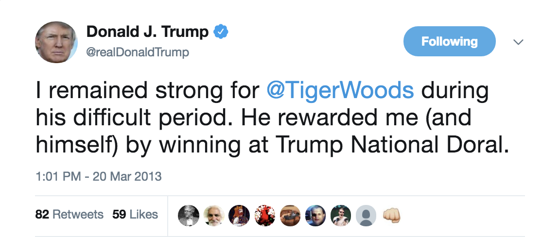 Screen-Shot-2018-08-27-at-9.02.51-AM Trump Goes Off On Twitter About Golfer Tiger Woods Like An Escaped Mental Patient Celebrities Donald Trump Politics Sports Top Stories