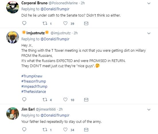 sevem Donald Trump Jr. Just Attacked Beloved Journalist Dan Rather On Twitter Like A Punk Donald Trump Media Politics Social Media Top Stories
