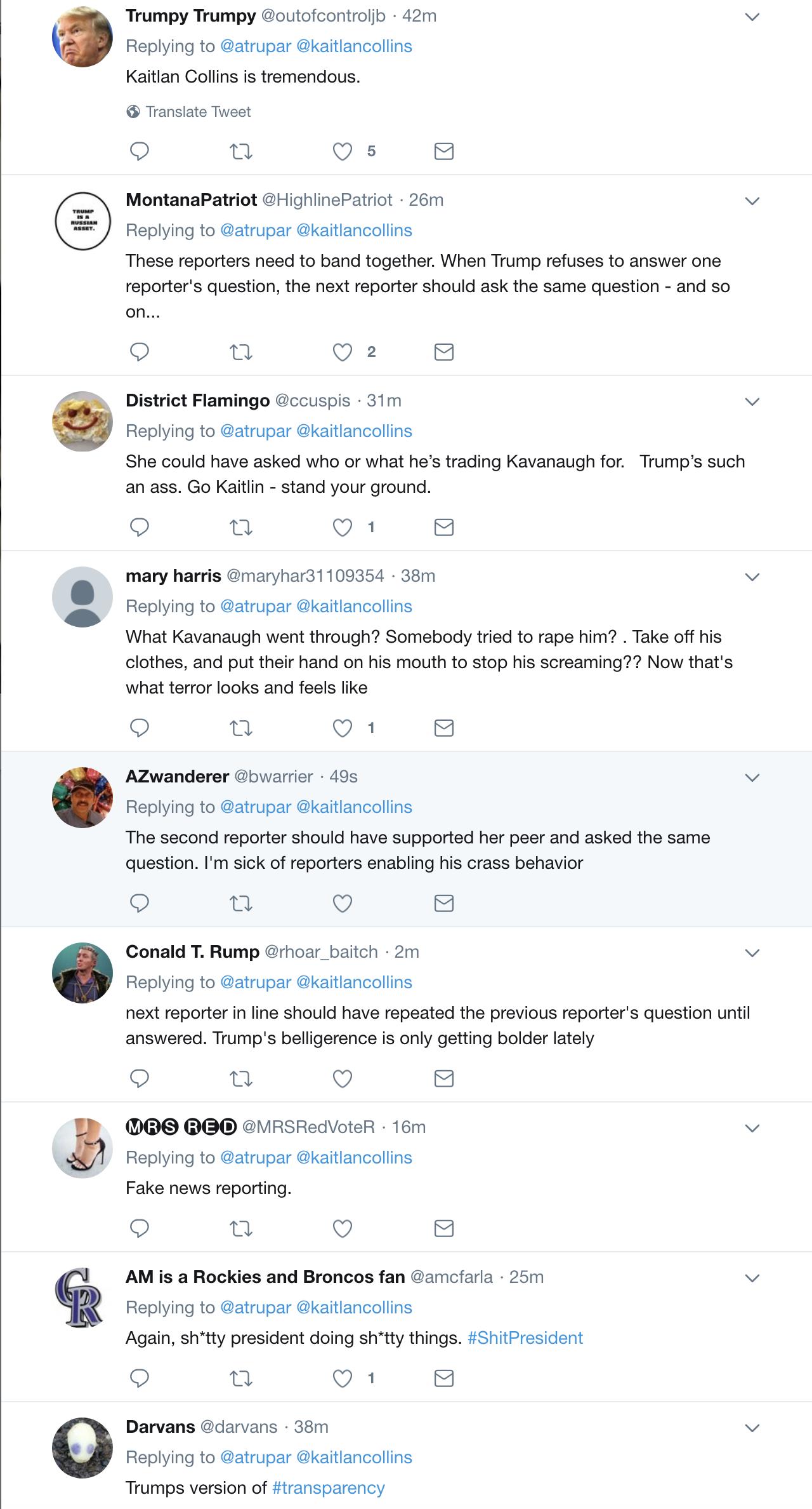 Screen-Shot-2018-10-01-at-11.56.44-AM Trump Attacks Female Reporter During Press Conference (VIDEO) Corruption Donald Trump Media Politics Social Media Top Stories
