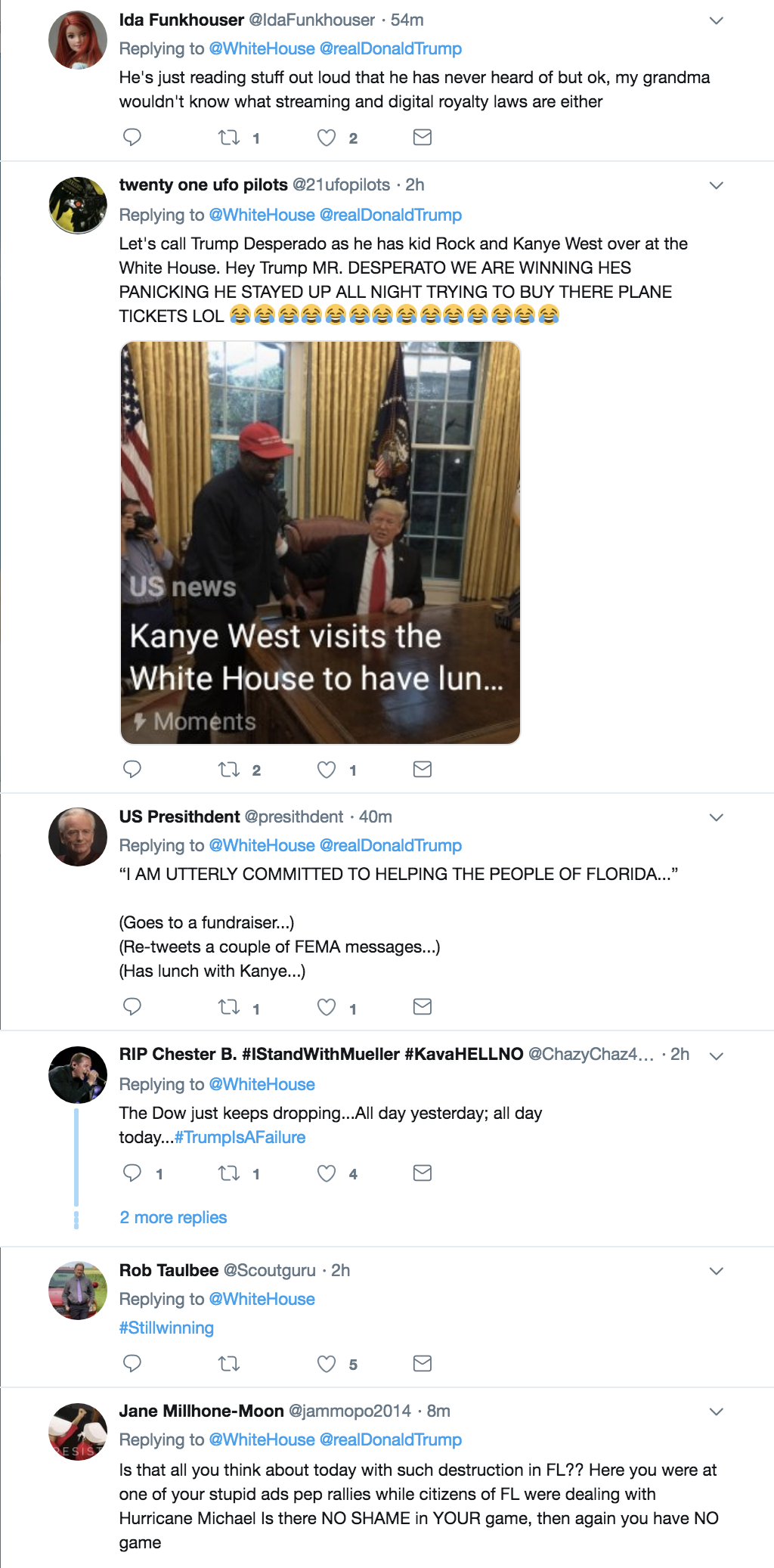 Screen-Shot-2018-10-11-at-3.17.29-PM Trump Tweets Video About Signing Law To Protect Musicians & Gets Eaten Alive Donald Trump Economy Hollywood Music Politics Television Top Stories Videos