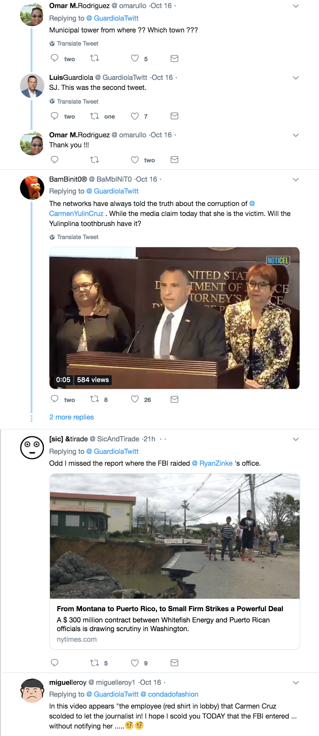 Screen-Shot-2018-10-17-at-9.39.47-AM FBI Swarm Raids Mayor In Puerto Rico After Direct Threats To/From Trump Corruption Domestic Policy Donald Trump Environment Politics Top Stories