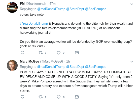 Screenshot-2018-10-18-at-1.17.08-PM Trump Tweets Video Update On Pompeo's Return & Gets Mocked Mercilessly Donald Trump Politics Top Stories