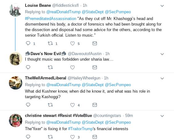 Screenshot-2018-10-18-at-1.22.06-PM Trump Tweets Video Update On Pompeo's Return & Gets Mocked Mercilessly Donald Trump Politics Top Stories