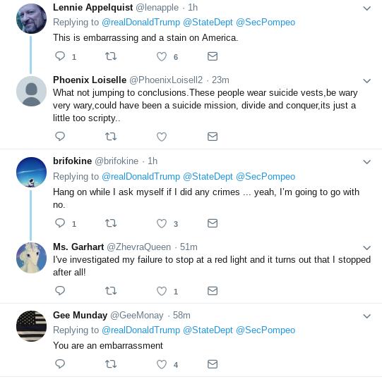 Screenshot-2018-10-18-at-1.22.43-PM Trump Tweets Video Update On Pompeo's Return & Gets Mocked Mercilessly Donald Trump Politics Top Stories