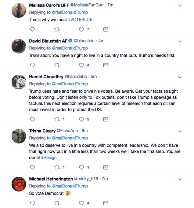 Screenshot-at-Oct-26-14-58-45 Trump Tweets Praise For Law Enforcement For Apprehending His Deranged Supporter Donald Trump Featured Politics Social Media Terrorism Top Stories