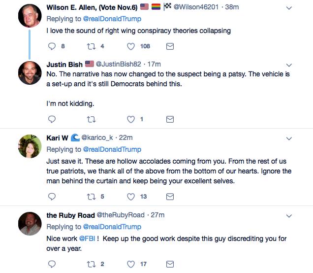 Screenshot-at-Oct-26-15-00-13 Trump Tweets Praise For Law Enforcement For Apprehending His Deranged Supporter Donald Trump Featured Politics Social Media Terrorism Top Stories