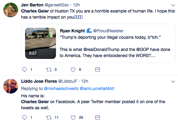 Screenshot-at-Oct-26-20-00-47 Gay Trump Supporter Abuses Hispanic Woman, Then Karma Gets Him (VIDEO) Featured Politics Racism Top Stories Videos