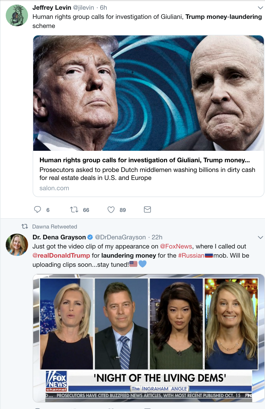 Screen-Shot-2018-11-05-at-8.35.16-AM Trump & Giuliani Hit With New Money Laundering Investigation - Donald Spazzes Corruption Crime Donald Trump Politics Top Stories