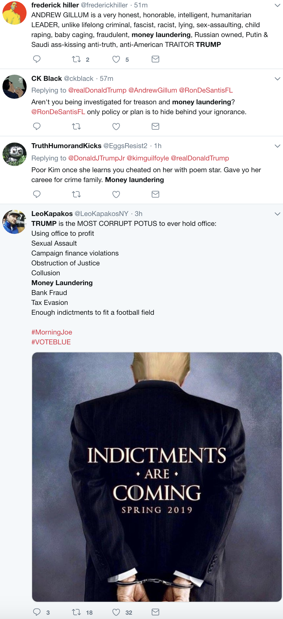 Screen-Shot-2018-11-05-at-8.35.38-AM Trump & Giuliani Hit With New Money Laundering Investigation - Donald Spazzes Corruption Crime Donald Trump Politics Top Stories
