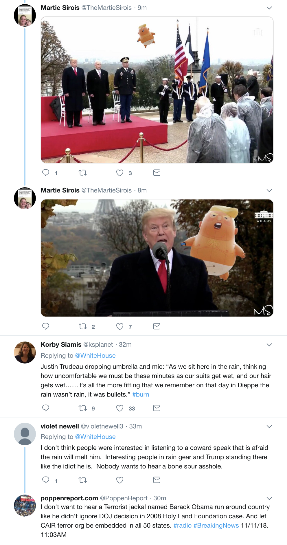 Screen-Shot-2018-11-11-at-10.32.43-AM Trump Speaks At WWI Cemetery In France & Makes A Dope Of Himself Instantly Donald Trump Foreign Policy History Military Top Stories