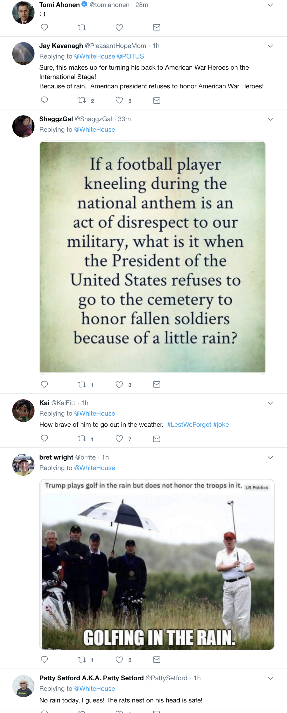 Screen-Shot-2018-11-11-at-10.34.00-AM Trump Speaks At WWI Cemetery In France & Makes A Dope Of Himself Instantly Donald Trump Foreign Policy History Military Top Stories