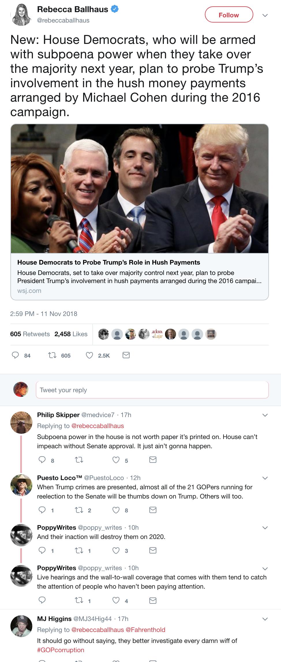 Screen-Shot-2018-11-12-at-8.11.37-AM Democrats Unveil 77 Subpoenas That Have Republicans Shook (DETAILS) Corruption Crime Donald Trump Mueller Russia Top Stories