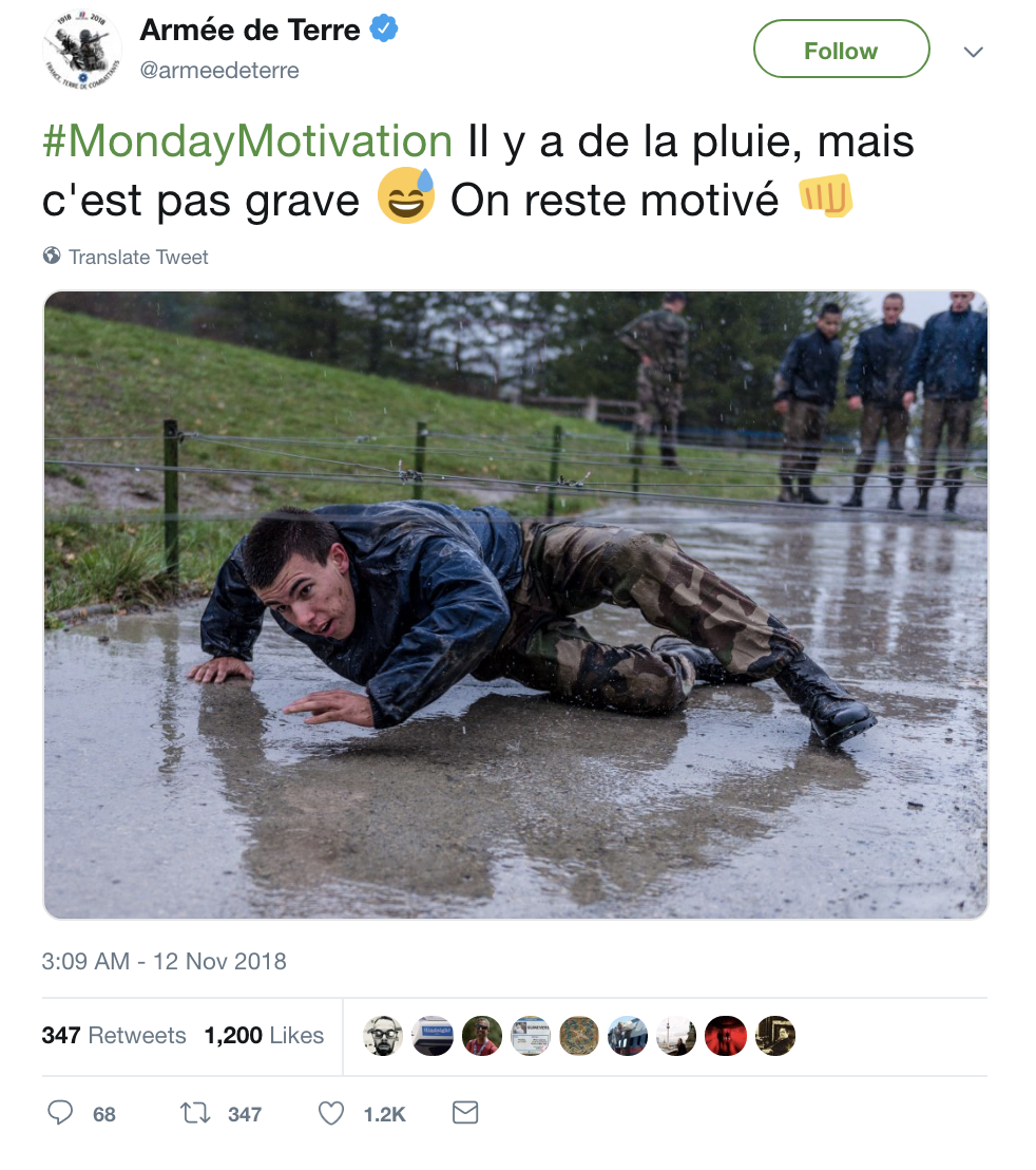 Screen-Shot-2018-11-12-at-8.52.57-AM French Army Mocks Trump Upon Departure & The Hilarity Will Kill His Fragile Ego Corruption Donald Trump Foreign Policy History Military Politics Top Stories