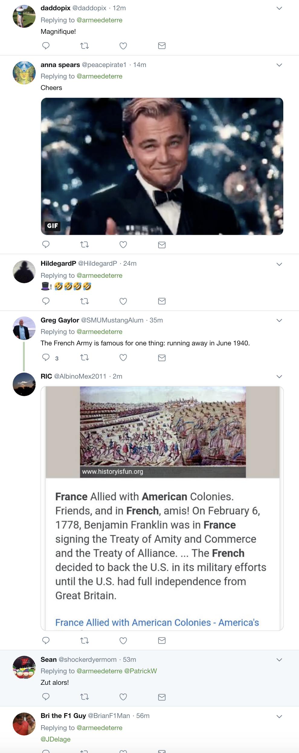 Screen-Shot-2018-11-12-at-8.54.09-AM French Army Mocks Trump Upon Departure & The Hilarity Will Kill His Fragile Ego Corruption Donald Trump Foreign Policy History Military Politics Top Stories