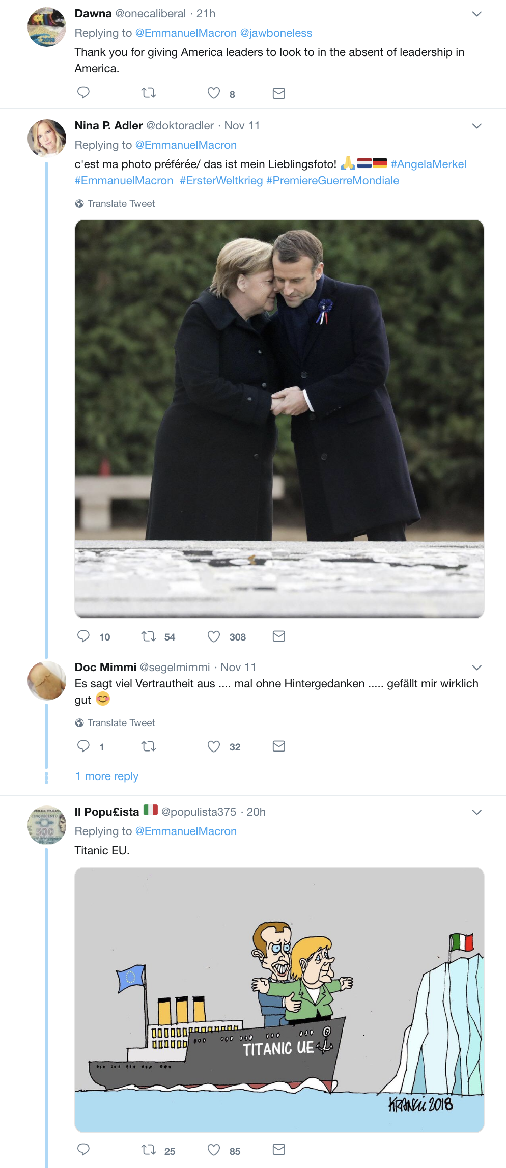 Screen-Shot-2018-11-12-at-8.55.24-AM French Army Mocks Trump Upon Departure & The Hilarity Will Kill His Fragile Ego Corruption Donald Trump Foreign Policy History Military Politics Top Stories