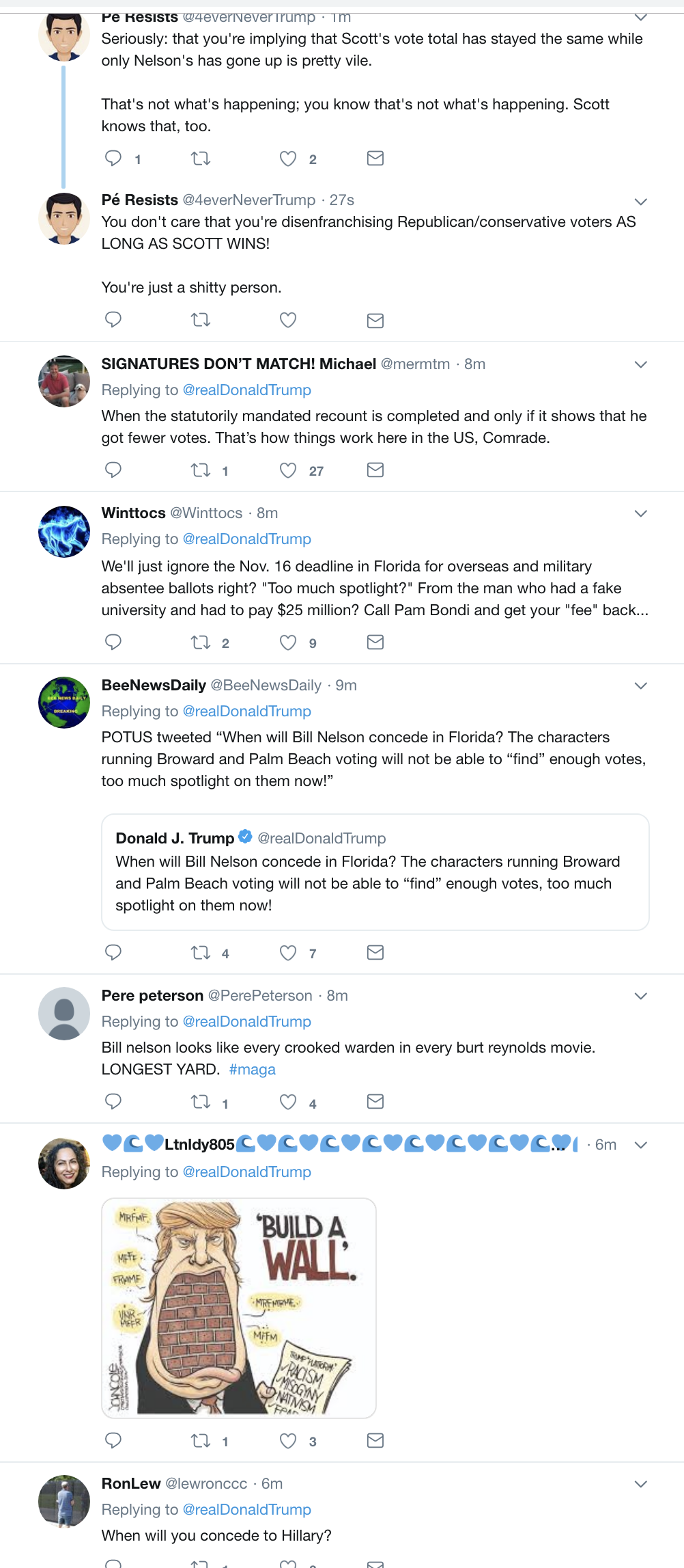 Screen-Shot-2018-11-13-at-10.45.25-AM Trump Tweets About Florida Recount In Desperate Attempt To Sway Outcome Corruption Crime Donald Trump Election 2018 Election 2020 Politics Top Stories