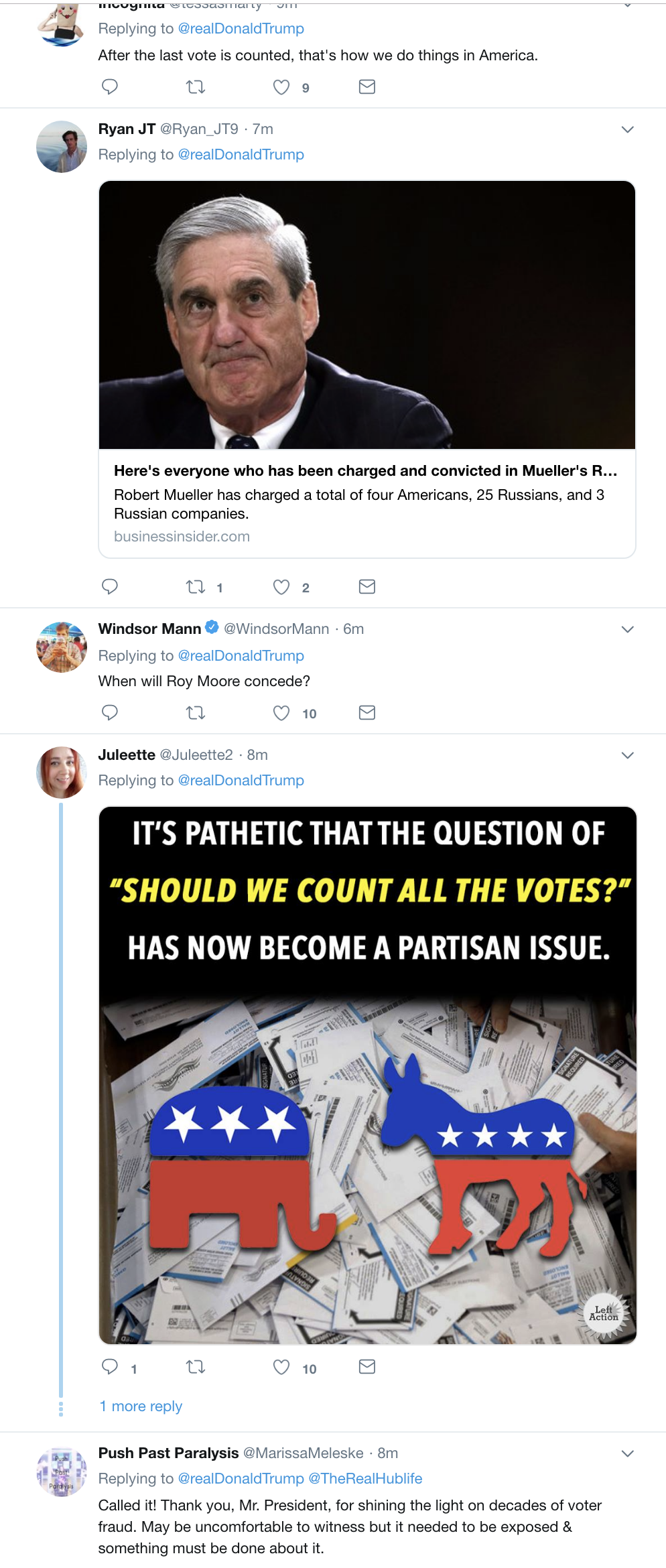 Screen-Shot-2018-11-13-at-10.46.35-AM Trump Tweets About Florida Recount In Desperate Attempt To Sway Outcome Corruption Crime Donald Trump Election 2018 Election 2020 Politics Top Stories