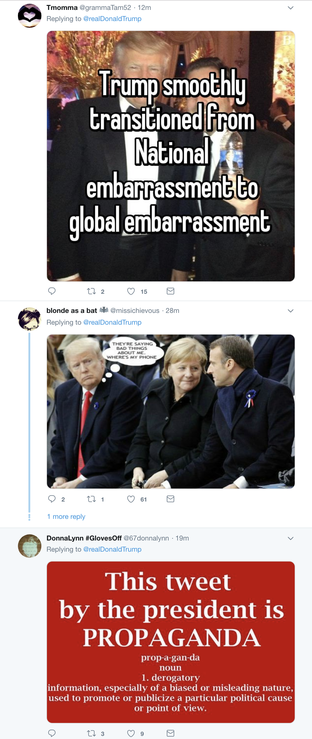 Screen-Shot-2018-11-13-at-8.02.35-AM Trump Viciously Attacks President Of France In Mentally Ill Morning Harangue Corruption Donald Trump Foreign Policy Politics Top Stories