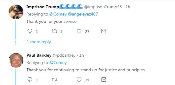 Comey21 James Comey Releases Anti-Trump Statement That Has Donald Livid Donald Trump Featured Hillary Clinton James Comey Mueller Top Stories